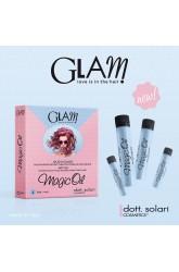 Glam Magic Oil olio a caldo: trattamento ristrutturante intensivo anticrespo. 4x10ml