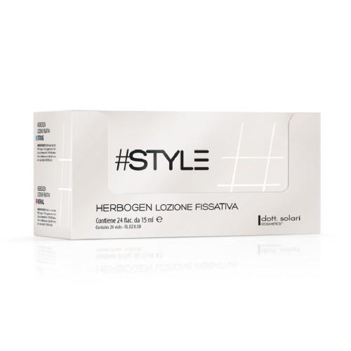 #Style White line Herbogen lozione fissativa 24Flac da 15ml