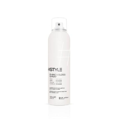 #Style White line Shine and gloss spray 150ml