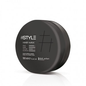 #Style-Black Line Hair Wax 100ml