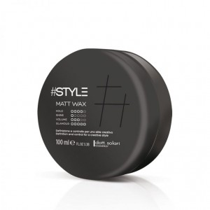 #Style-Black Line Matt Wax 100ml