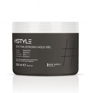 #Style-Black Line Extra Strong Hold Gel 500ml