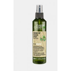EveryGreen Styling Shine Up Spray Lucidante Per Capelli 200ml