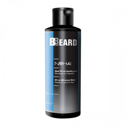 B.Beard Nohai Gel Pre-Shave Gel pre-rasatura per Viso e Capo 150ml